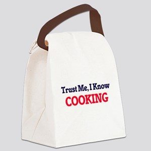 Trust Me, I know Cooking Canvas Lunch Bag