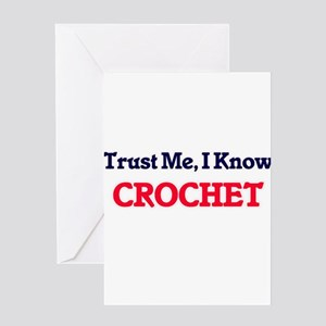 Trust Me, I know Crochet Greeting Cards