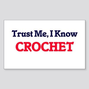 Trust Me, I know Crochet Sticker