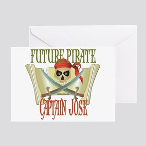 Captain Jose Greeting Card