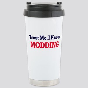 Trust Me, I know Moddin Stainless Steel Travel Mug