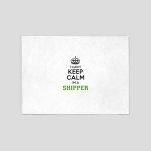 SHIPPER I cant keeep calm 5'x7'Area Rug