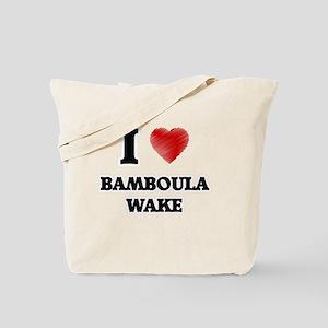I Love Bamboula Wake Tote Bag