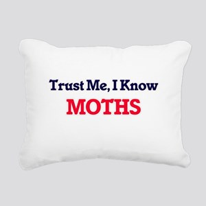 Trust Me, I know Moths Rectangular Canvas Pillow