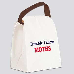 Trust Me, I know Moths Canvas Lunch Bag