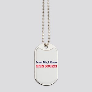 Trust Me, I know Open Source Dog Tags