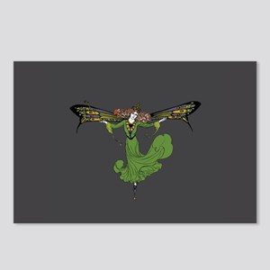 Eight Queen Mab Postcards