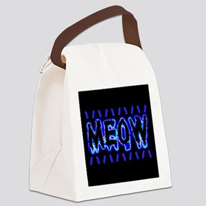 MEOW Canvas Lunch Bag
