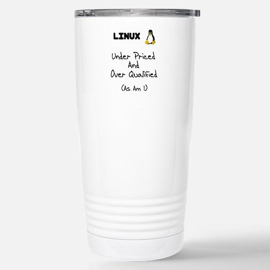 Cute Slackware Travel Mug