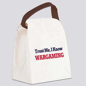 Trust Me, I know Wargaming Canvas Lunch Bag