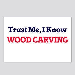 Trust Me, I know Wood Car Postcards (Package of 8)