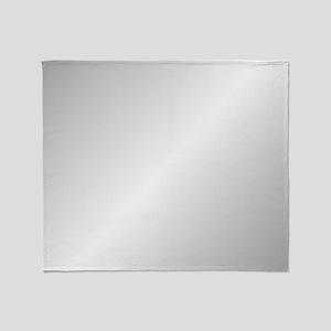 Silver Shine Throw Blanket