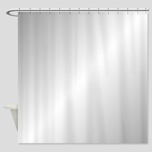 Silver Shine Shower Curtain