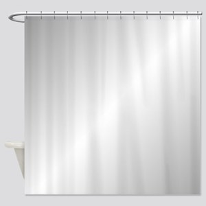 Silver Shine Shower Curtain