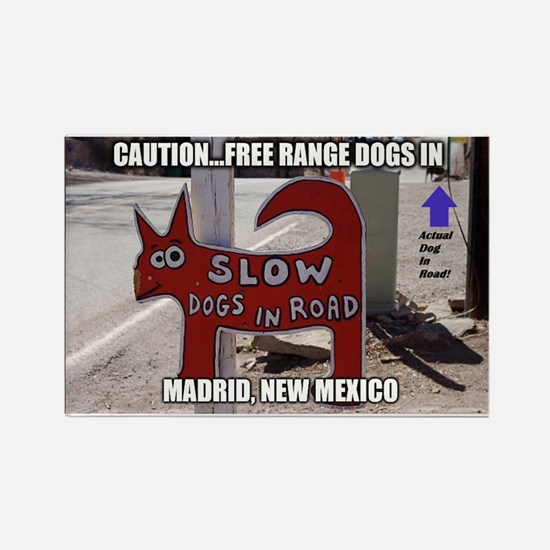Madrid, New Mexico Magnets