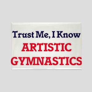 Trust Me, I know Artistic Gymnastics Magnets