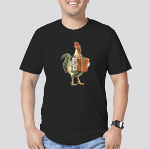 Accordian Playing Chicken T-Shirt