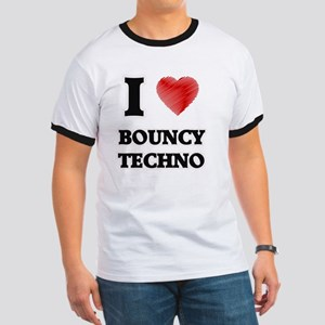 I Love Bouncy Techno T-Shirt