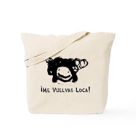 I Go Crazy! Re-usable Canvas Shopping Bag