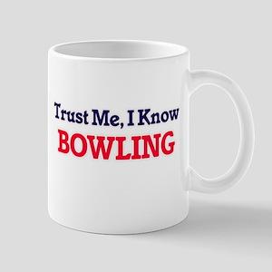 Trust Me, I know Bowling Mugs