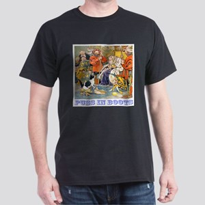 Puss In Boots Dark T-Shirt