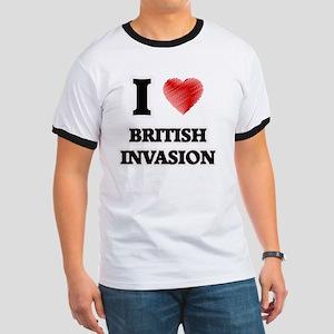 I Love British Invasion T-Shirt