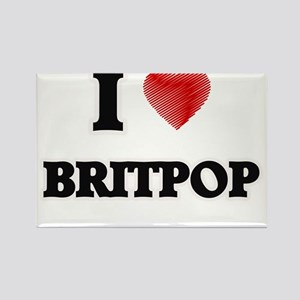 I Love Britpop Magnets