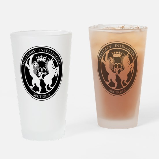 Cute Mi6 Drinking Glass