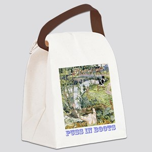 Puss In Boots Canvas Lunch Bag