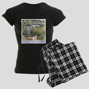 Puss In Boots Women's Dark Pajamas