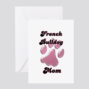 Frenchie Mom3 Greeting Card