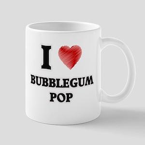 I Love Bubblegum Pop Mugs