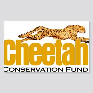 Cheetah Conservation Fund Sticker