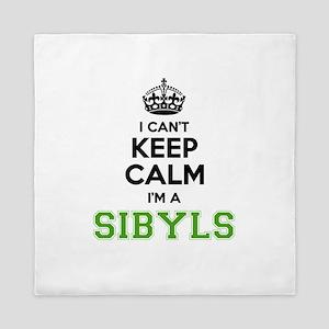 Sibyls I cant keeep calm Queen Duvet