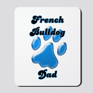Frenchie Dad3 Mousepad