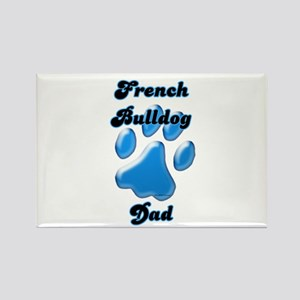 Frenchie Dad3 Rectangle Magnet