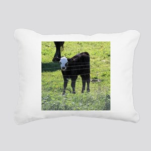 Calf Rectangular Canvas Pillow