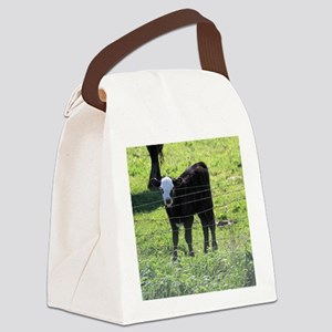 Calf Canvas Lunch Bag