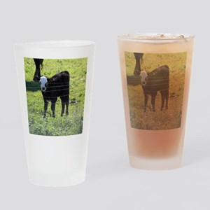 Calf Drinking Glass