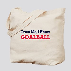 Trust Me, I know Goalball Tote Bag