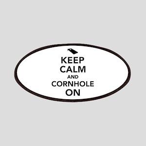 Keep calm and Cornhole on Patch