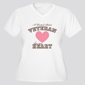ausveteranhasmyheart Plus Size T-Shirt