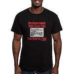Gov't. Feed Men's Fitted T-Shirt (dark)