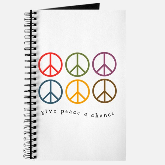 Give Peace a Chance - 6 Signs Journal