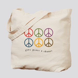 Give Peace a Chance - 6 Signs Tote Bag