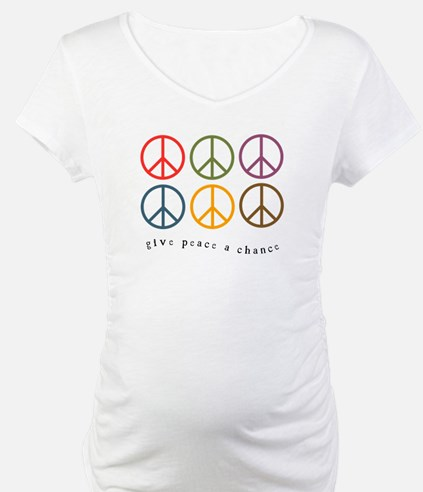 Give Peace a Chance - 6 Signs Shirt