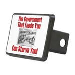 Gov't. Feed Rectangular Hitch Cover