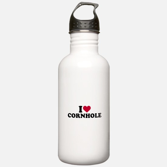 I love Cornhole Water Bottle