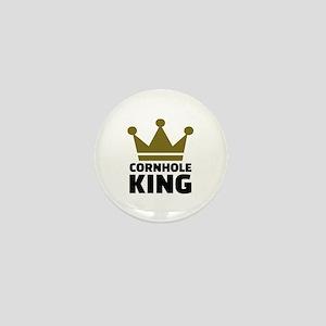 Cornhole king Mini Button
