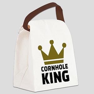 Cornhole king Canvas Lunch Bag